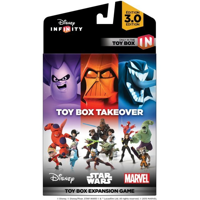 Disney INFINITY 3.0 Edition: Toy Box Takeover (Toy Box Expansion Game)