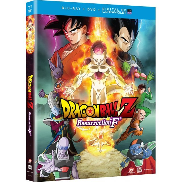Dragonball Z: Resurrection 'F' [Blu-ray+DVD]