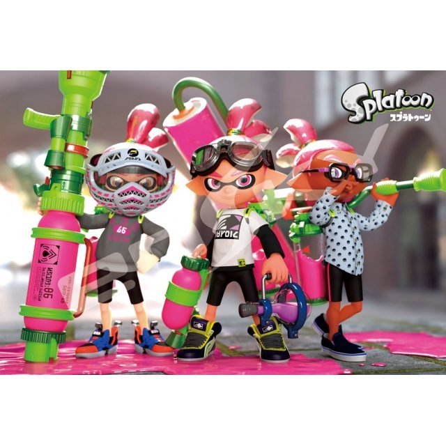 Splatoon Jigsaw Puzzle: Boys (300 Pieces)