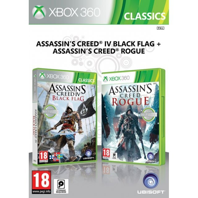 Assassin's Creed IV: Black Flag and Assassin's Creed: Rogue Double Pack
