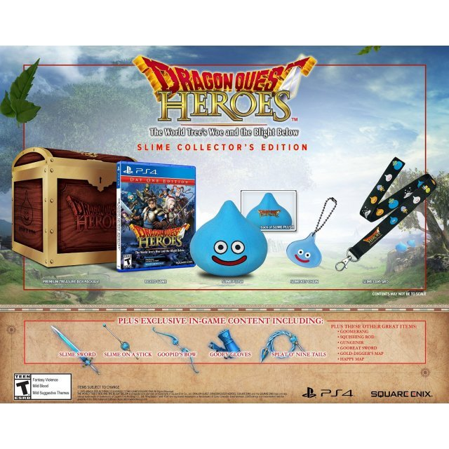 Dragon Quest Heroes: The World Tree's Woe and the Blight Below (Slime Collector's Edition)