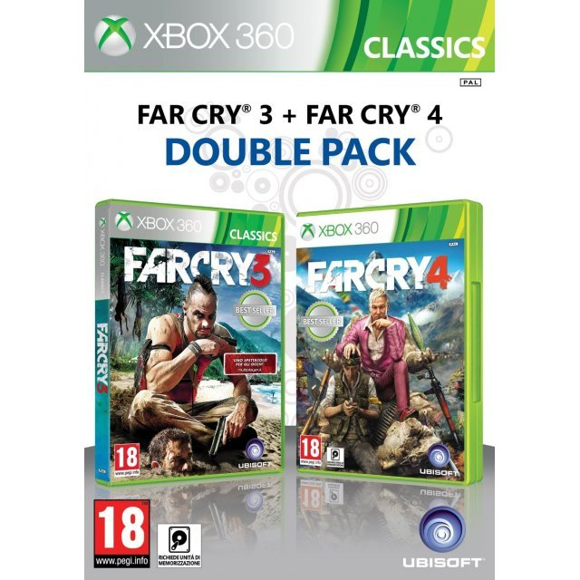 Far Cry 3 and Far Cry 4 Double Pack