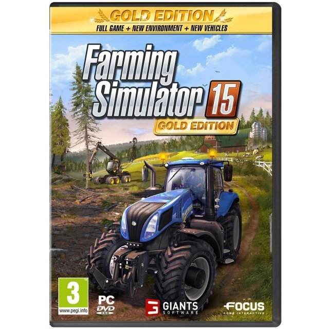 Farming Simulator 15 Gold Edition (DVD-ROM)