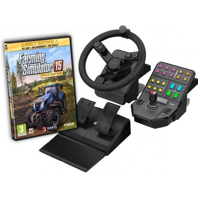 Farming Simulator 15 Gold Edition (Wheel Bundle) (DVD-ROM)