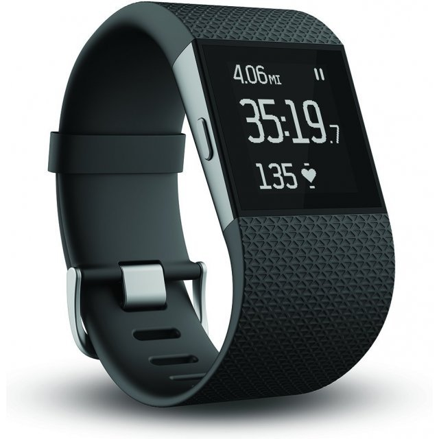 Fitbit Surge Fitness Watch, Small (Black)