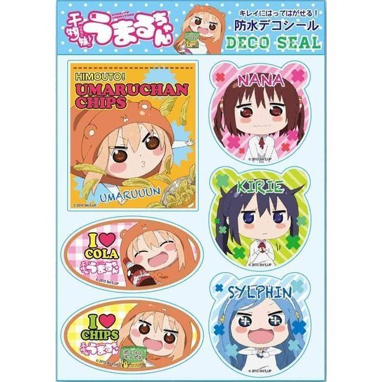 Himouto! Umaru-chan Waterproof Decoration Seal B
