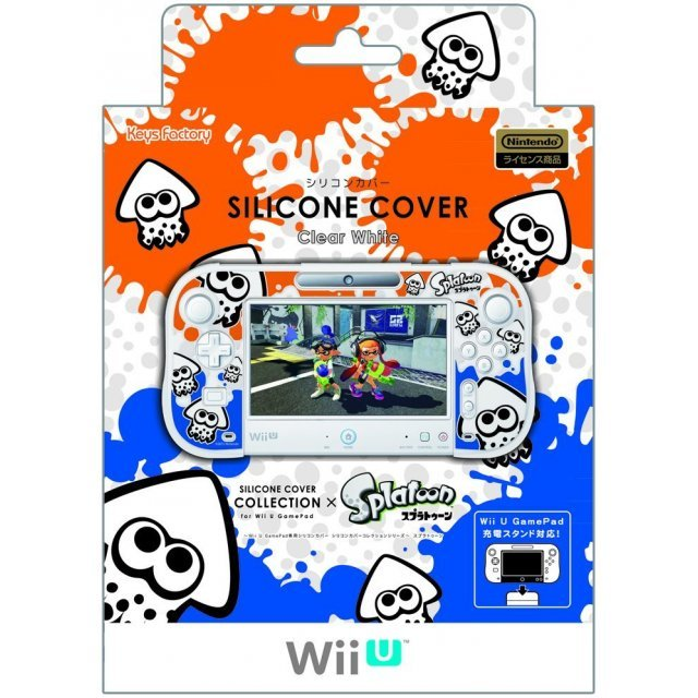 Silicon Cover Collection for Wii U GamePad (Splatoon Type A)