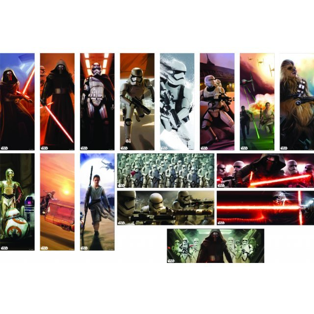 Star Wars: The Force Awakens Chara-Pos Collection (Set of 8 pieces)