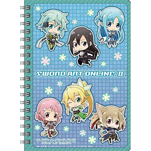 Sword Art Online II Ring Notebook B6 W