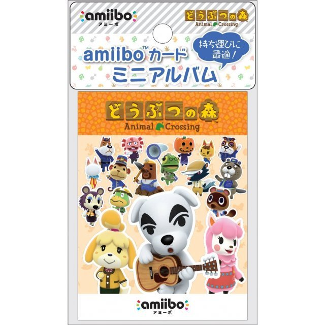 Amiibo Card Mini Album 2 (Doubutsu no Mori)