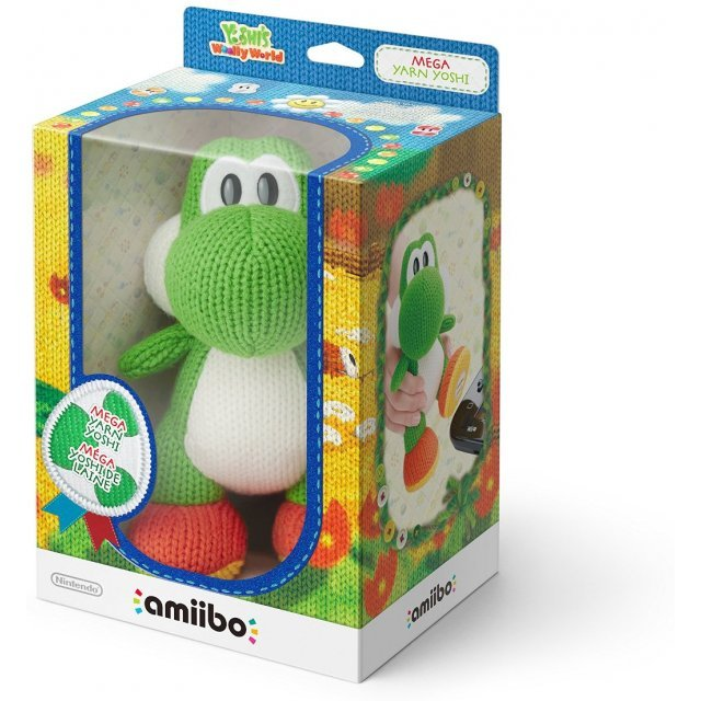 amiibo Yoshis Woolly World Series (Mega Yarn Yoshi)