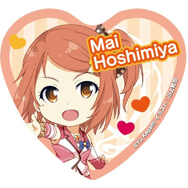 Angel Festa! Heart Can Badge: Hoshimiya Mai