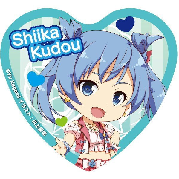 Angel Festa! Heart Can Badge: Kudo Shiika