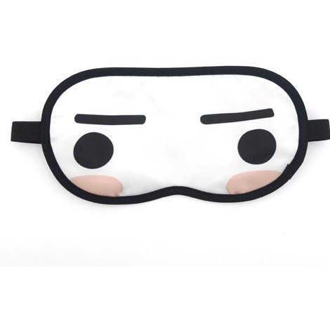 Doko Demo Issyo Eye Mask: Toro & Kuro