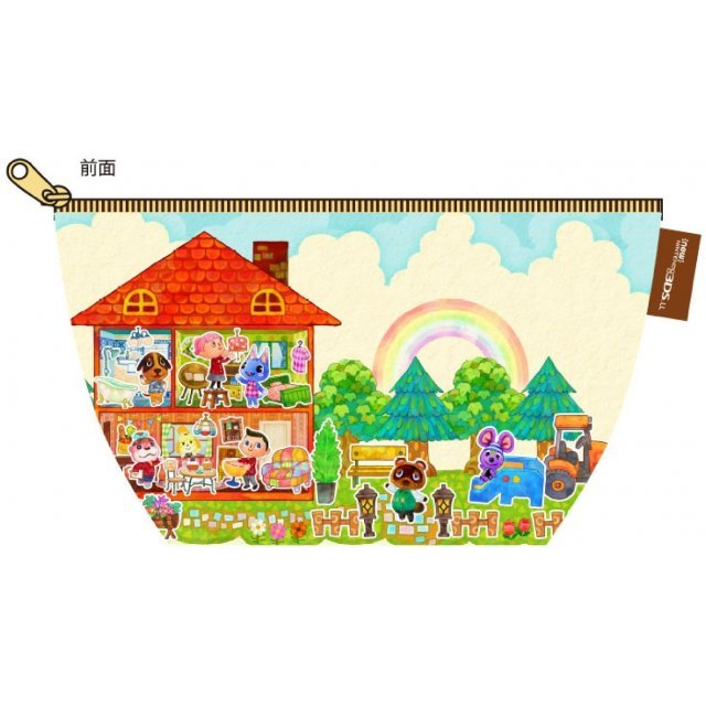 Doubutsu no Mori: Happy Home Designer Pouch for New 3DS LL