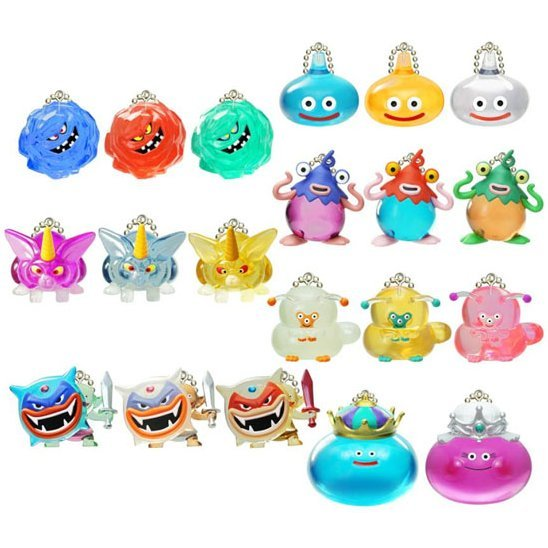 Dragon Quest Crystal Monsters Queen Slime Appeared (Set of 20 pieces)