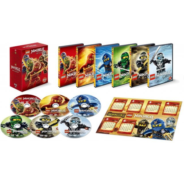 Lego Ninjago Dvd Box [Limited Edition]