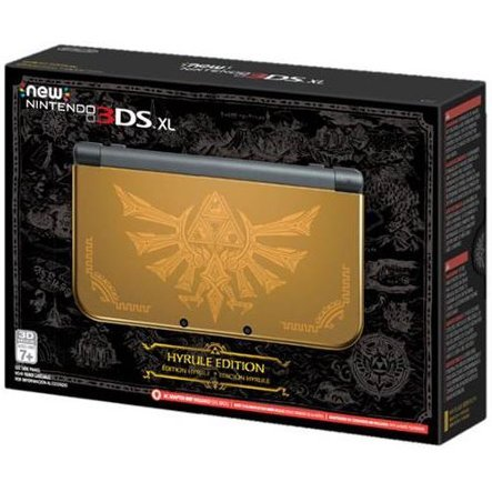 New Nintendo 3DS XL Hyrule Gold Edition
