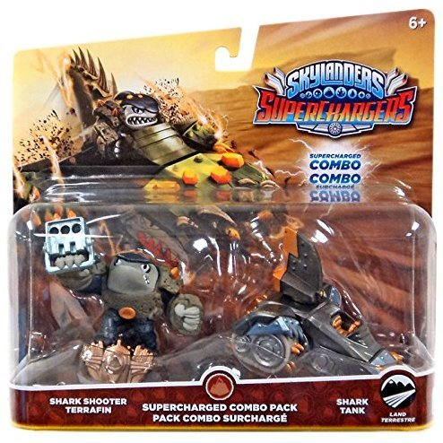 Skylanders SuperChargers Dual Pack No. 1: Shark Shooter Terrafin and Shark Tank