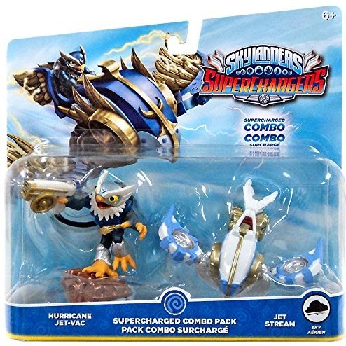 Skylanders SuperChargers Dual Pack No. 2: Hurricane Jet-Vac and Jet Stream