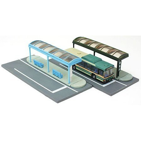 Visual Scene Accessory: 007-4 Bus Stop A4 (City Type)