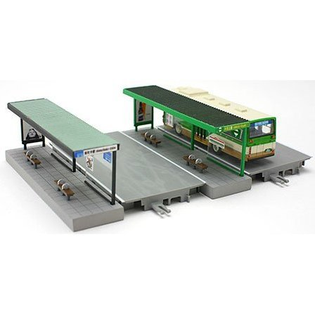 Visual Scene Accessory: 122 Bus Stop C (Modern Type)