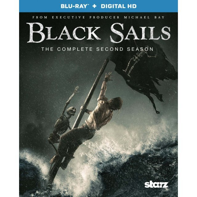 Black Sails: The Complete Second Season [Blu-ray + UltraViolet]