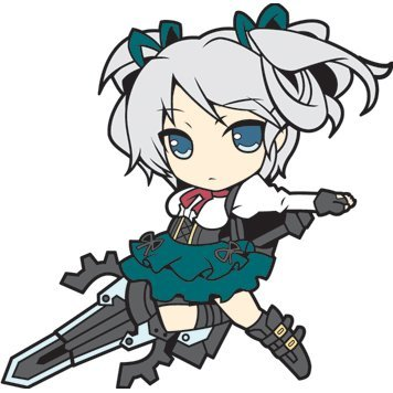 God Eater 2 Rubber Strap: Ciel Alencon (Re-run)