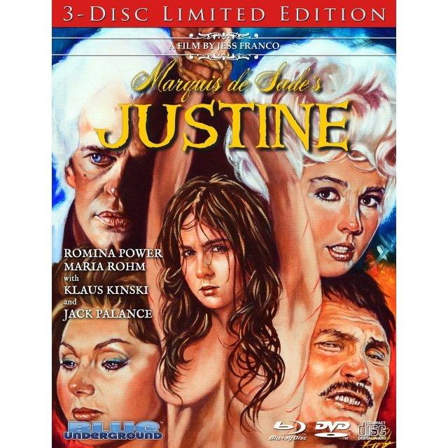 Marquis de Sade's Justine (Limited Edition) [Blu-ray+DVD+CD]