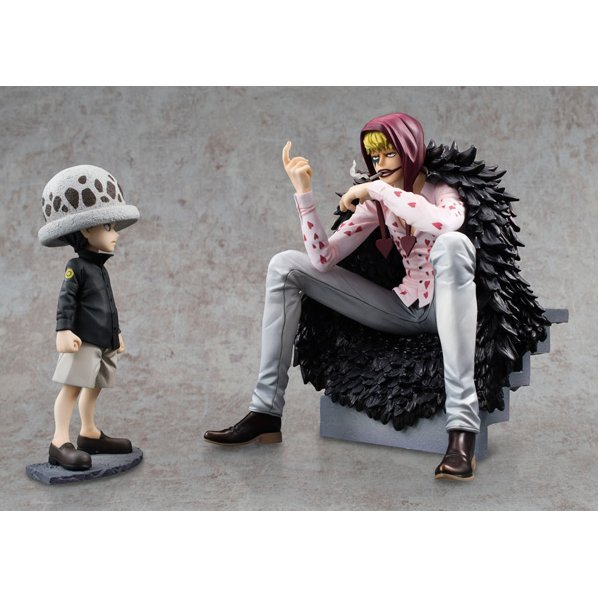 One Piece Excellent Model Portrait of Pirates Limited Edition: Corazon & Law