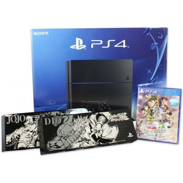 PlayStation 4 System [Jojo no Kimyou na Bouken Eyes of Heaven Limited Edition] (Jet Black)