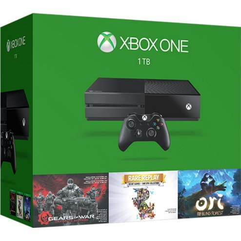 Xbox One 1TB Console System [Holiday Bundle Set] (Black)