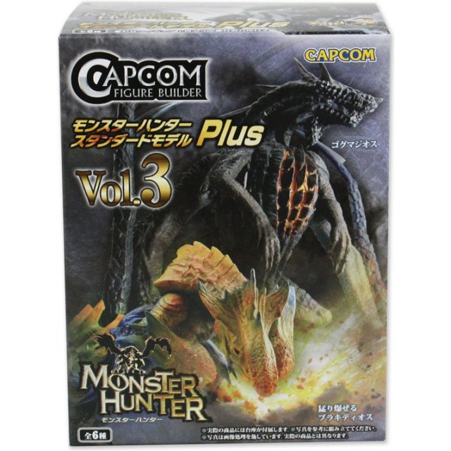 Capcom Figure Builder Monster Hunter: Standard Model Plus Vol.3 (Random Single)