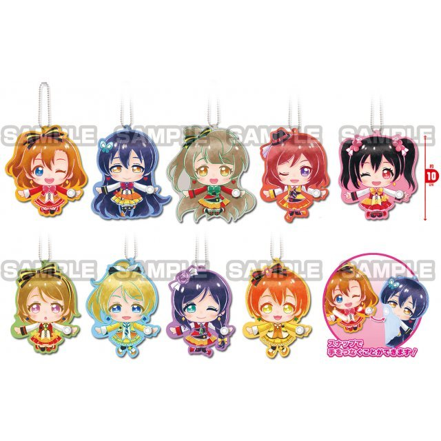 Love Live! Mu's Tetsunagi Deformed Keychain Vol.2 (Set of 10 pieces)