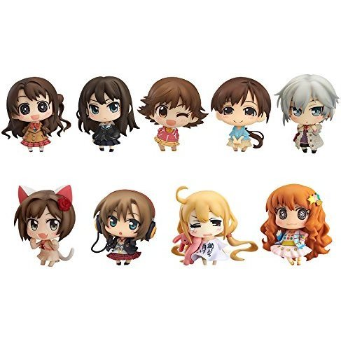Minicchu Idolm@ster Cinderella Girls Non Scale Trading Figure: Cinderella Project Ver. 01 (Set of 9 pieces)