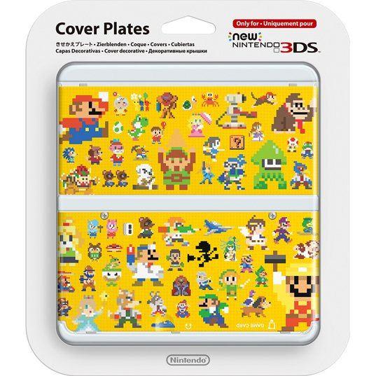 New Nintendo 3ds Cover Plates No 067 Super Mario Maker