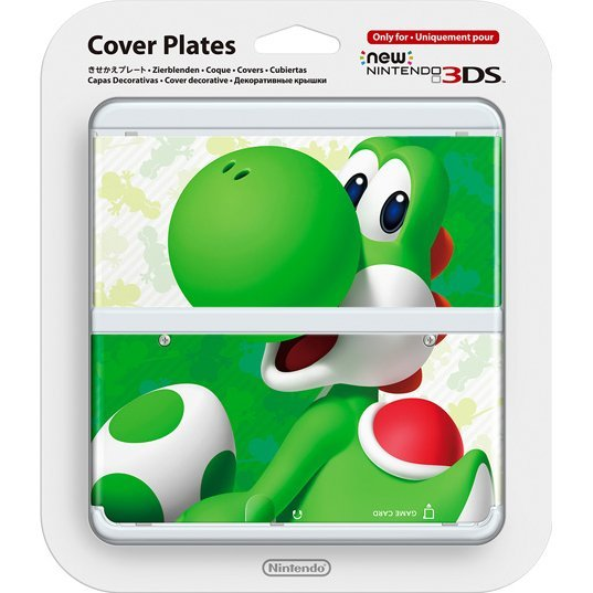 New Nintendo 3DS Cover Plates No.070 (3D Yoshi)