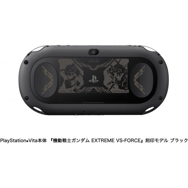 PlayStation Vita [Mobile Suit Gundam Extreme VS Force Premium Box] (Black)