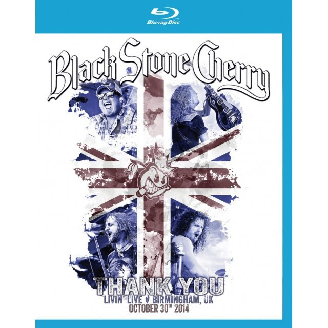 Black Stone Cherry: Thank You Livin' Live [Blu-ray+CD]