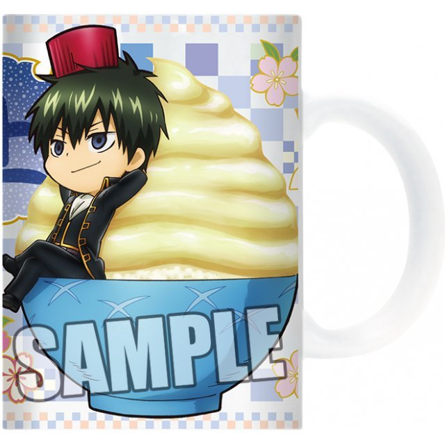 Gintama Full Color Mug: Hijikata & Okita