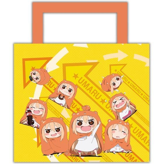 Himouto! Umaru-chan Water-repellent Shoulder Tote Bag: Umaru-chan