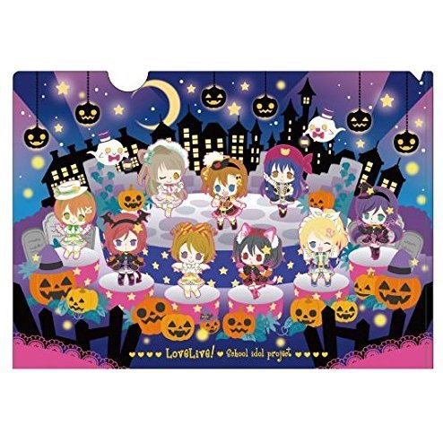 Love Live! Clear File Dancing stars on me! Ver.