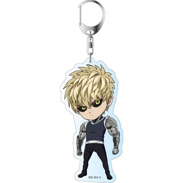 One-Punch Man Deka Key Chain: Genos