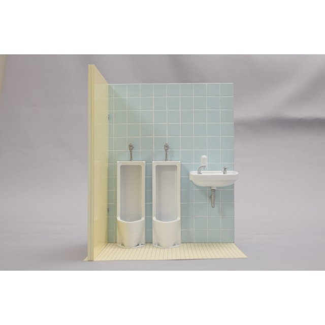 Oretachi no 1/12 Scale Plastic Model: Guy's Toilet (Re-run)