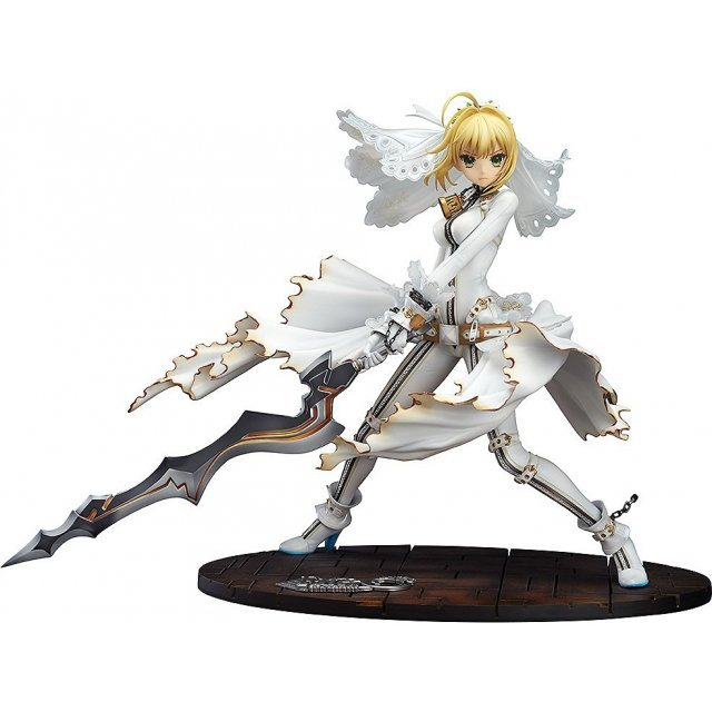 Fate/EXTRA CCC 1/7 Scale Pre-Painted Figure: Saber Bride Good Smile Company Ver.