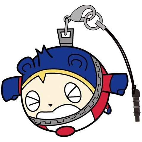 Persona 4 the Golden Tsumamare Strap: Kuma