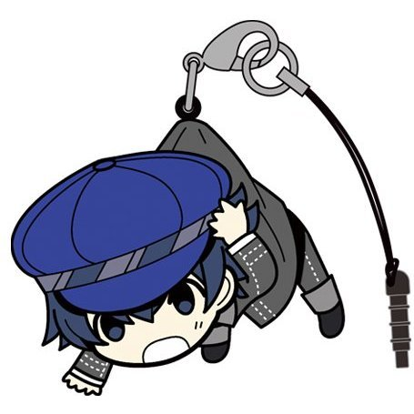 Persona 4 the Golden Tsumamare Strap: Shirogane Naoto