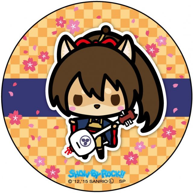 Show by Rock!! Can Badge Simple Design Ver.: A