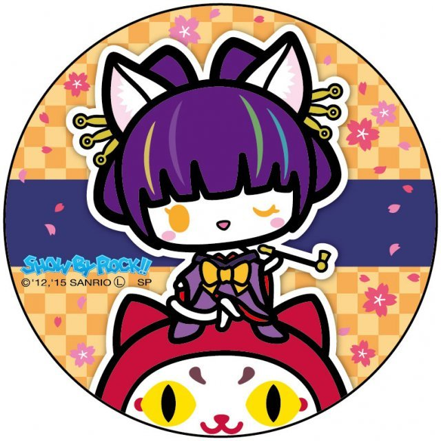 Show by Rock!! Can Badge Simple Design Ver.: Daru Tayu