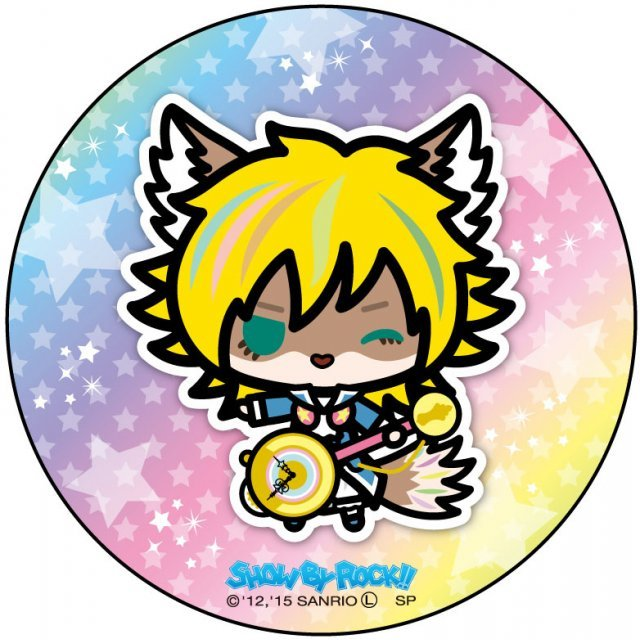 Show by Rock!! Can Badge Simple Design Ver.: Shu Zo